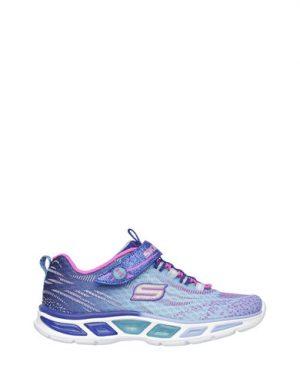 47f8e49fd97 Skechers Спортни обувки Litebeams от плетена мрежеста материя с лъскави  нишки 10667L-BLHP